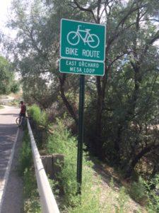 Bike Tour - Sign