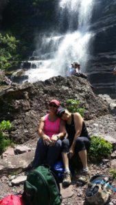 Hike - Janet Deb - Falls