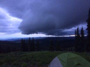 Routt - Campsite 2 Rain Clouds 2
