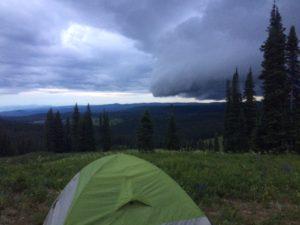 Routt - Campsite 2 - Rain Clouds