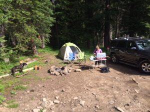Routt - camp setup 1