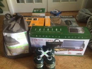 Tent Gear-Boxed