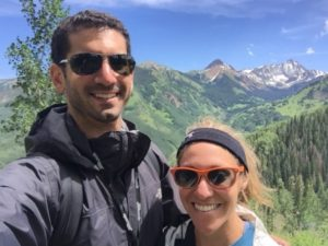 Williams Lake - Mountain Selfie
